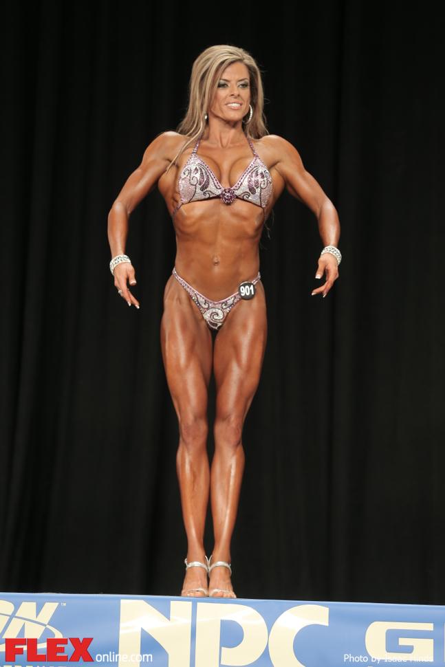 Kelly Dominick - Figure D - 2014 NPC Nationals
