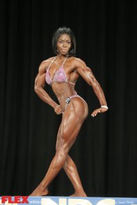 Dianne Brown - Women's Physique A - 2014 NPC Nationals