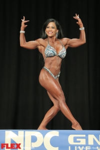 Hazel Carrico - Women's Physique A - 2014 NPC Nationals