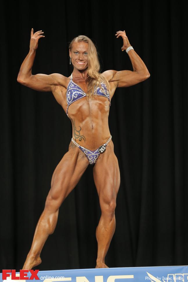 Erin Knecht - Women's Physique D - 2014 NPC Nationals
