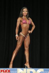 Karene Gonzalez - Bikini A - 2014 NPC Nationals