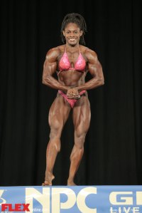 Tomefafa Ameka - Middleweight - 2014 NPC Nationals