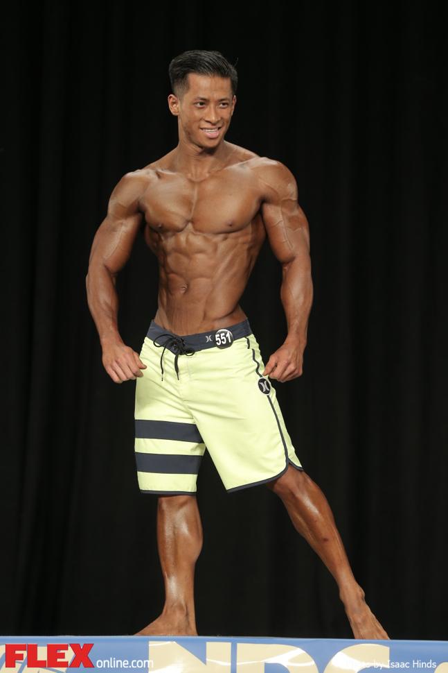 Tony Duong - Men's Physique A - 2014 NPC Nationals