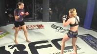 MMA Spinning Back Fist KO