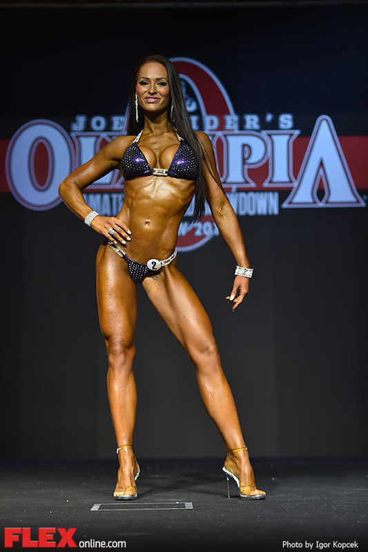 Christina Fjaere - 2014 Russia Pro Bikini