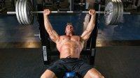 bench press pro wrestler Rob Terry