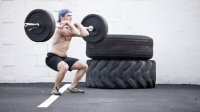 front squat outdoors