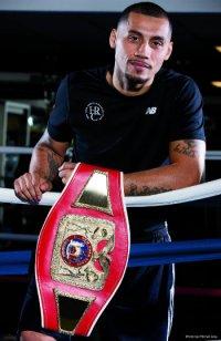 Pro boxer frank Galarza
