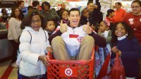 steve weatherford shopping spree