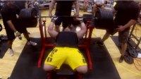 Jeremy Hoornstra barbell bench press
