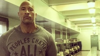 The Rock, aka Dwayne Johnson