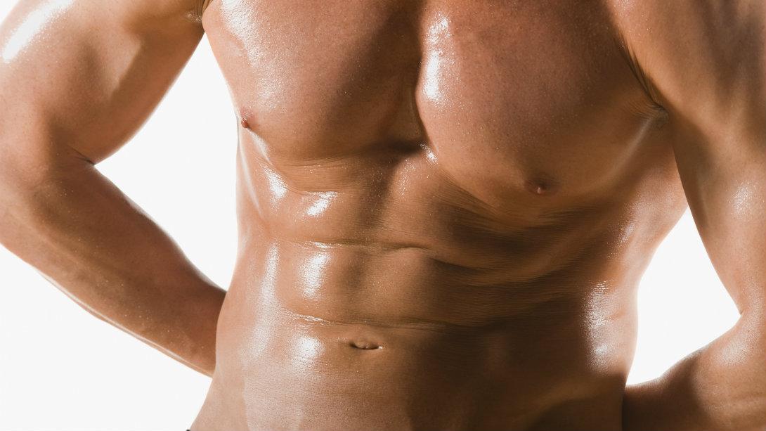 lean male physique