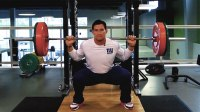 steve weatherford heavy leg day
