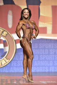 Tanji Johnson - 2015 Fitness International