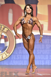 Aurika Tyrgale - 2015 Fitness International