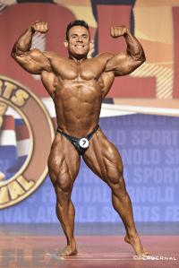 Angel Manuel Rangel Vargas - 2015 Arnold Classic 212
