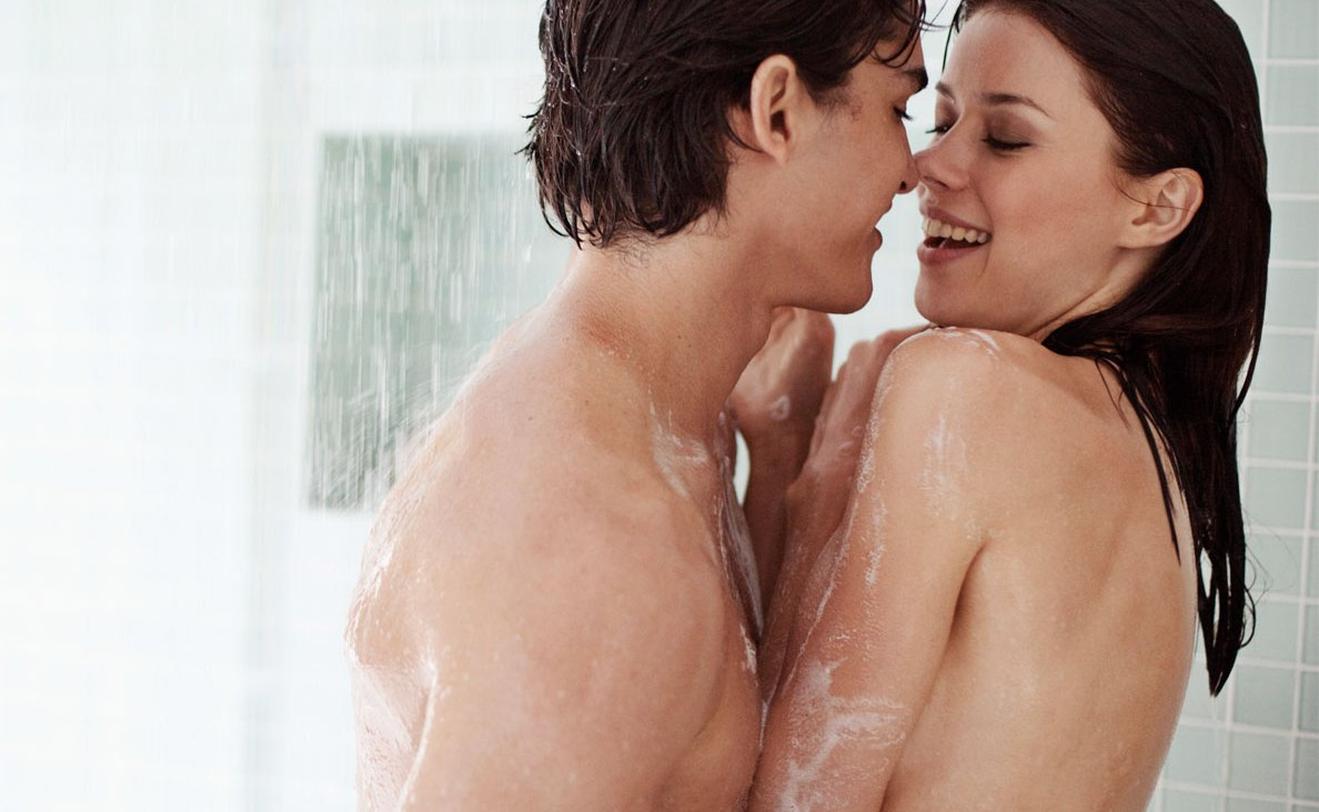 What's the best way to make shower sex work?