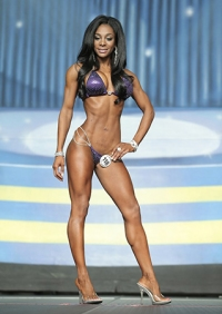 Bianca Berry in competition