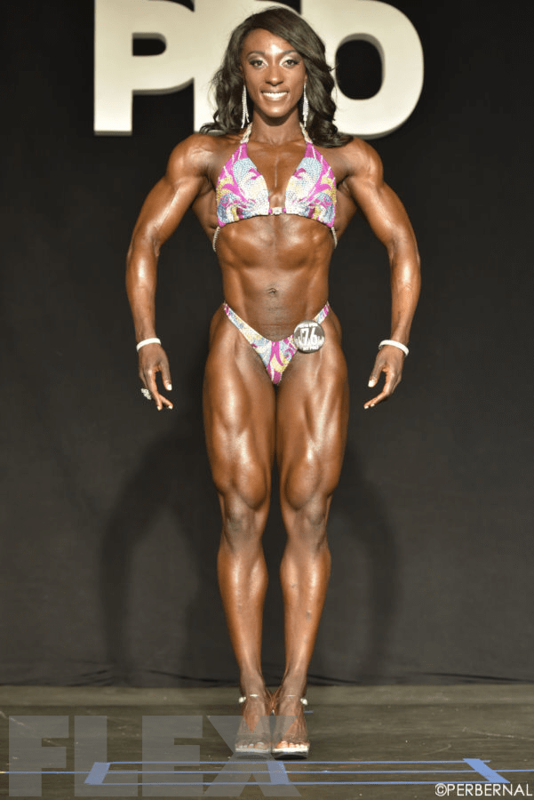 Sheila Forjuoh - 2015 New York Pro