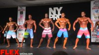 Men's Physique Highlights from the 2015 NY Pro