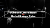 Next Level: Dumbbell Lateral Raise vs. Barbell Lateral Raise