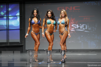 Bikini Final Comparisons & Awards - 2015 IFBB Toronto Pro