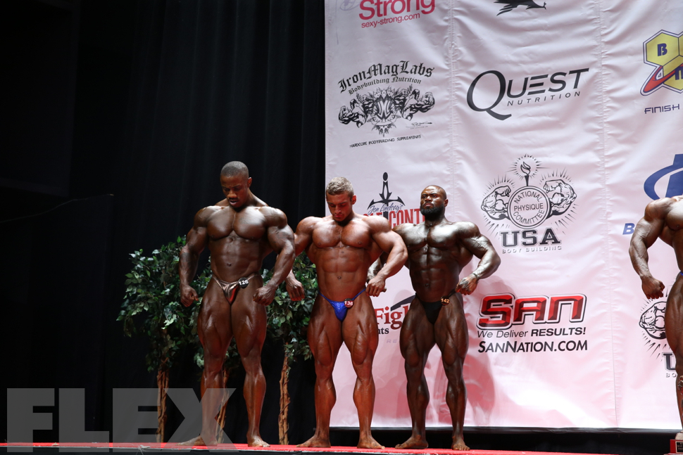 Men's Bodybuilding Heavyweight Awards