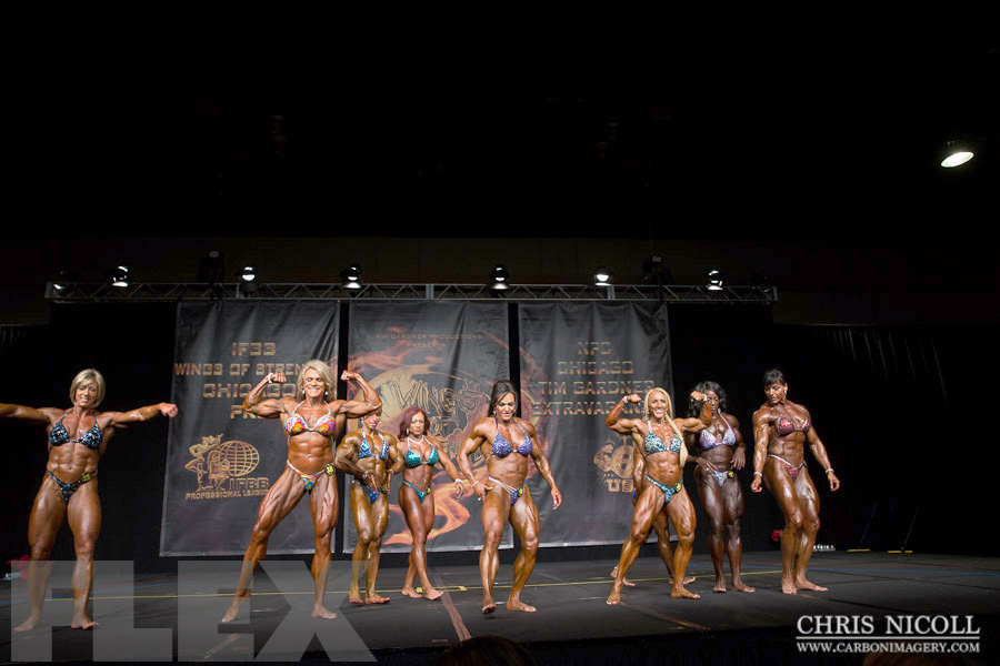 Women's Bodybuilding Awards - 2015 Chicago Pro