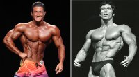 Sadik Hadzovic Trains with Bodybuilding Legend Frank Zane
