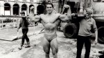 Arnold Posing in 1967