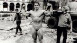 Arnold Posing in 1967