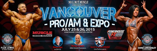 2015 IFBB Vancouver Pro