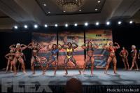 Women's Bodybuilding Comparisons - 2015 IFBB Tampa Pro