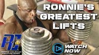 How to Be Hardcore: Ronnie's Greatest Lifts