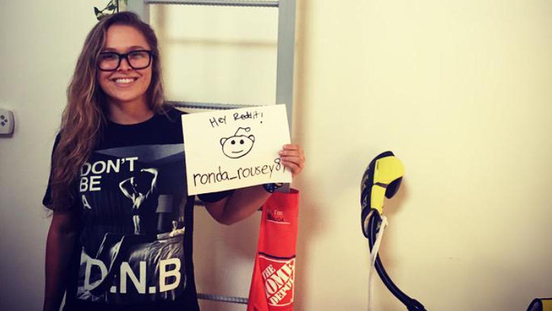 Rousey-reddit-ama