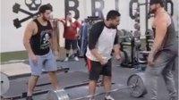 face slap at gym