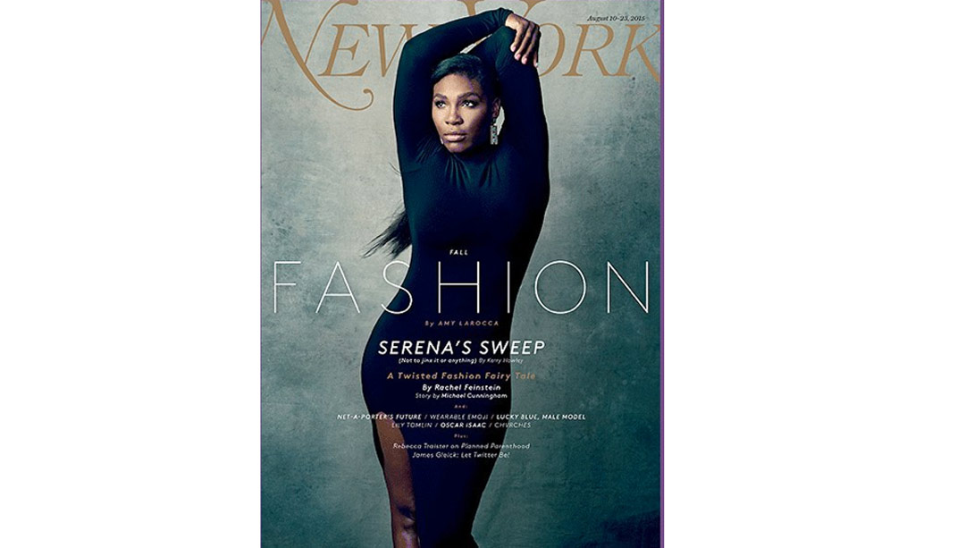 Behind The Scenes Of Serena Williams' Cover Shoot For 'New York Magazine'