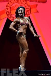 Tanji Johnson - 2015 IFBB Arnold Europe