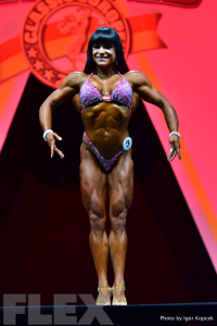 Myriam Capes - 2015 IFBB Arnold Europe
