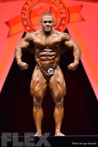 Alex Lesukov - 2015 IFBB Arnold Europe