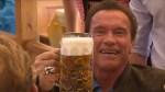 Arnold Schwarzenegger Makes Appearance at Oktoberfest