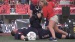 7-Foot, 440-Lb High School Football Player Dwarfs Competition