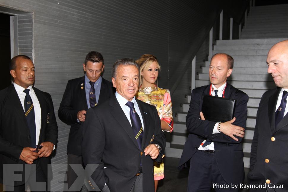 Athlete Meeting - 2015 IFBB Arnold Europe