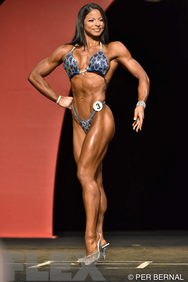 Michelle Blank - Fitness - 2015 Olympia