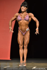 Myriam Capes - Fitness - 2015 Olympia