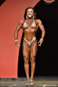 Tanji Johnson - Fitness - 2015 Olympia