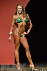 Courtney King - Bikini - 2015 Olympia