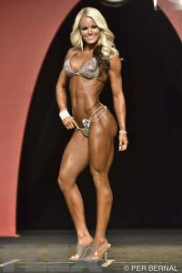 Justine Munro - Bikini - 2015 Olympia