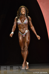 Brittany Campbell - Figure - 2015 Olympia