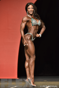Candice Lewis - Figure - 2015 Olympia